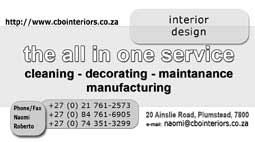 CBO Interiors offered services