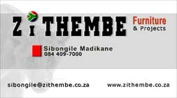Zithembe Furniture and Projects